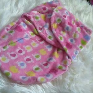 Other - Pink Elephants Baby Swaddle Sack